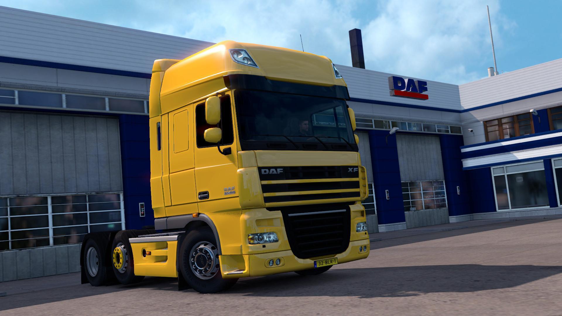 daf xf 105 by 50k for truck euro truck simulator 2 mods. Black Bedroom Furniture Sets. Home Design Ideas