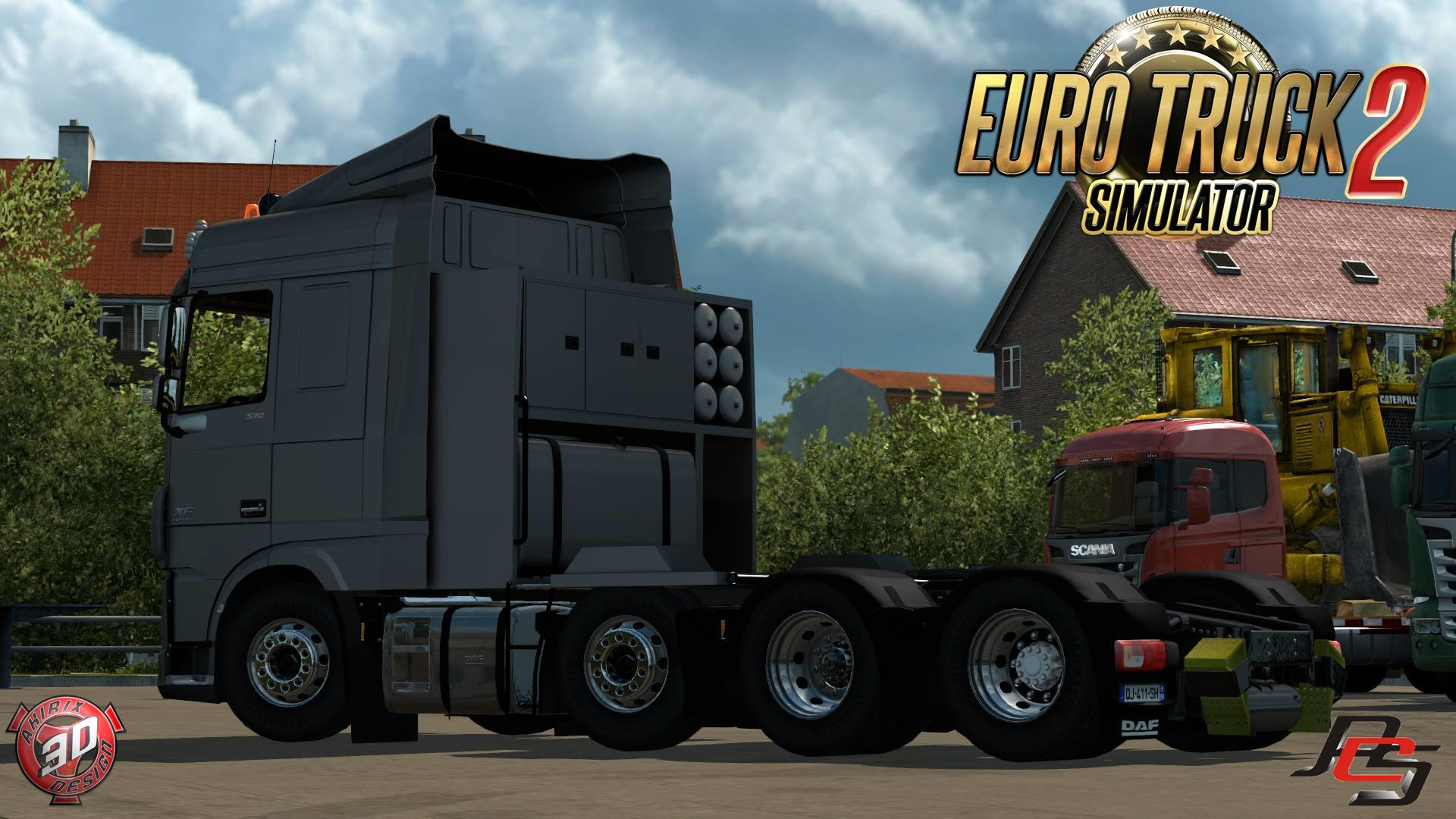 DAF XF 106 V1.0 Truck -Euro Truck Simulator 2 Mods