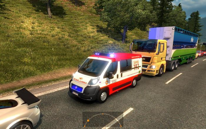 GREAT MOD ON TRAFFIC ETS2 V1 24 2 1S UPDATE ETS2 -Euro Truck