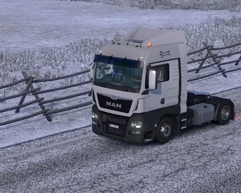 MAN TGX EURO 6 V1 7 Truck -Euro Truck Simulator 2 Mods