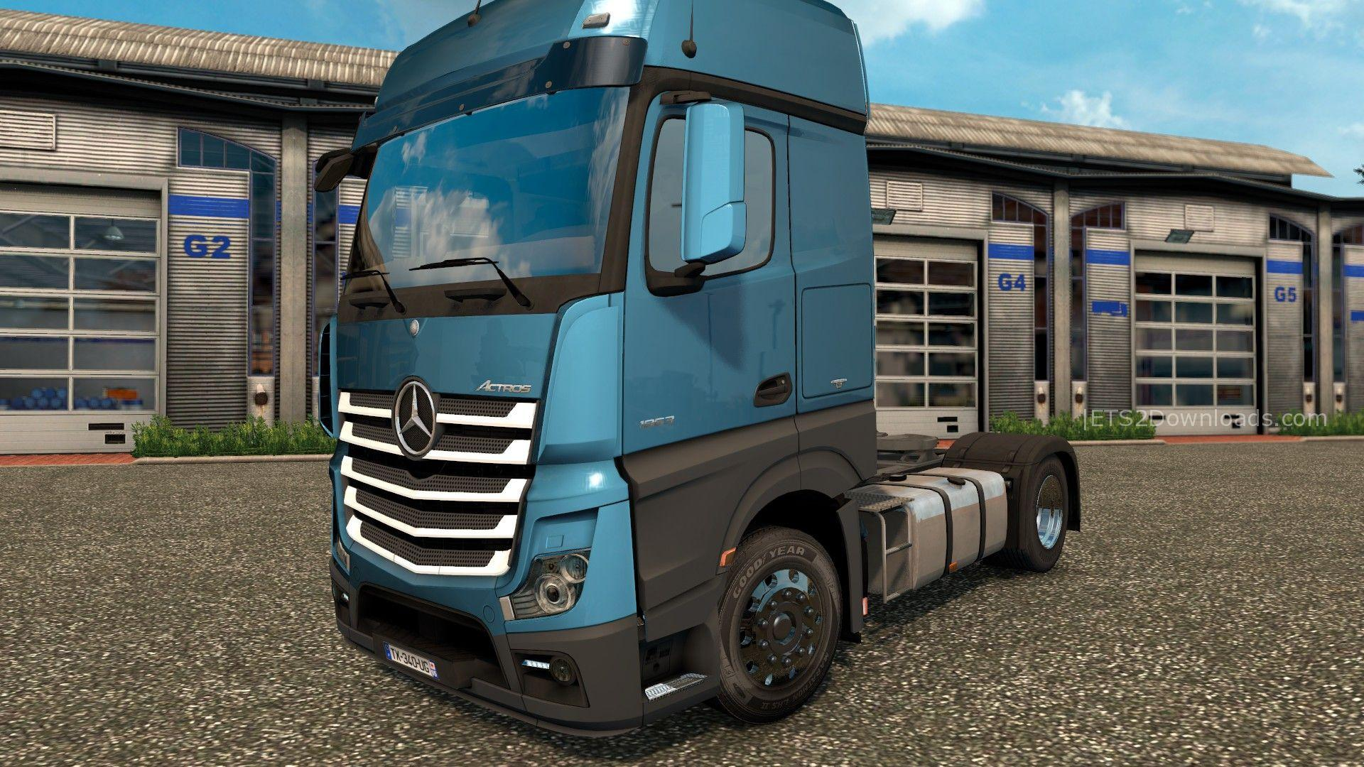 New Plastic Parts For Mercedes Benz New Actros V3 4 4 Ets2