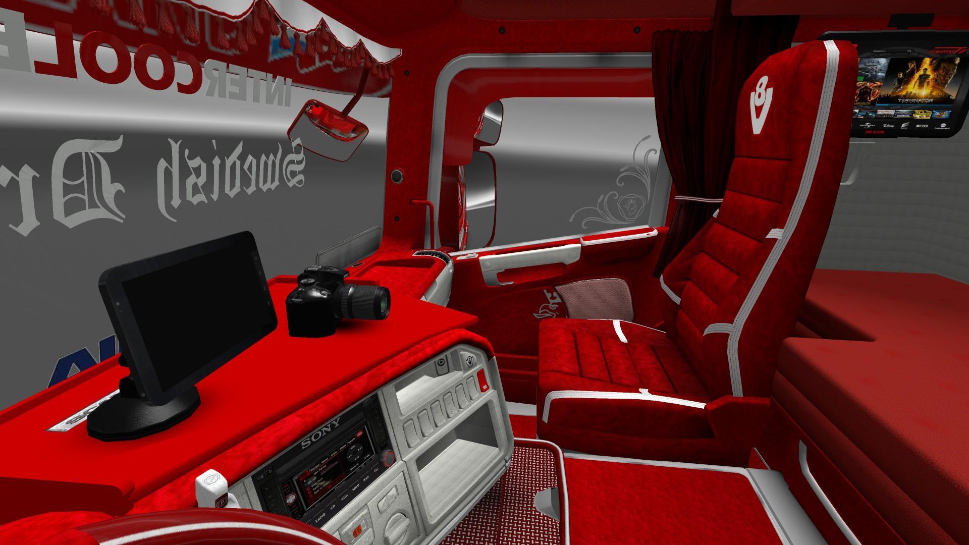 IMPROVED COMPANY TRUCKS V1.5 ETS2 -Euro Truck Simulator 2 Mods