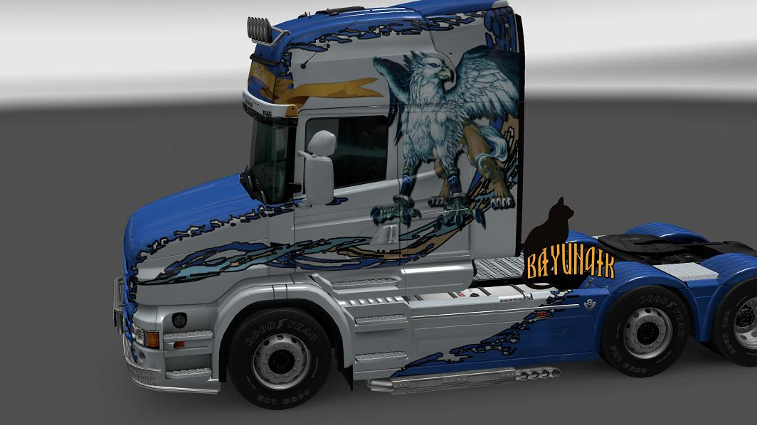 Scania T Series Griffin Skin 1 24 Mod Euro Truck