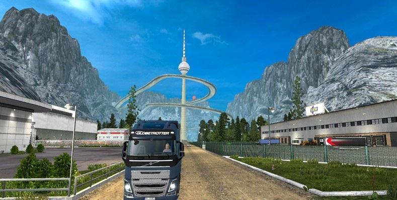 SOUTH KOREA OFFROAD MAP V2 6 Mod -Euro Truck Simulator 2 Mods