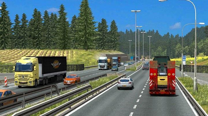 TRAFFIC DENSITY FOR 1 24 (RELEASE) ETS2 -Euro Truck Simulator 2 Mods