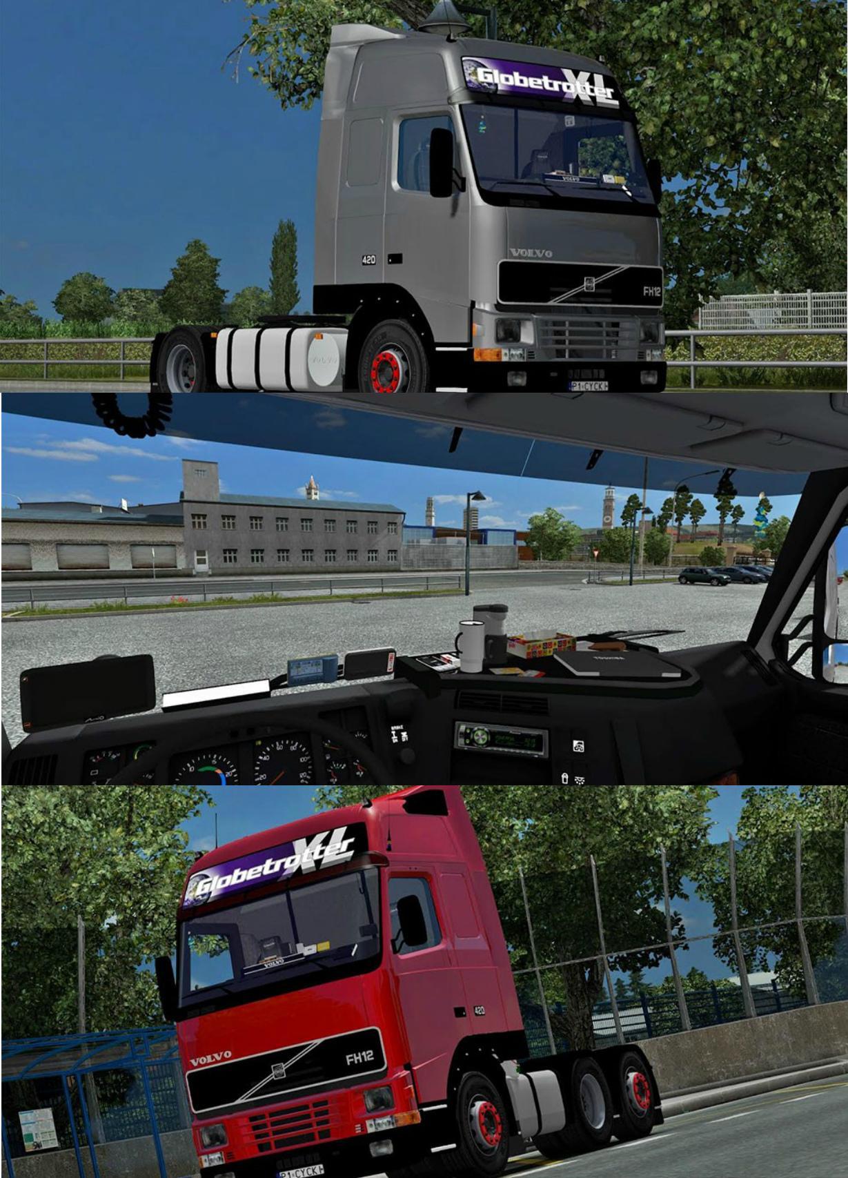VOLVO FH12 V3 Truck -Euro Truck Simulator 2 Mods