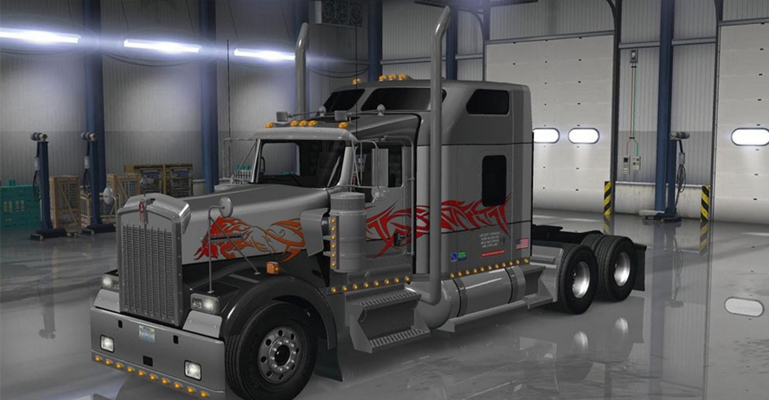 Kenworth T Interior moreover  together with Kenworth T Sleeper Cab Left View as well Maxresdefault moreover Maxresdefault. on kenworth w900 studio sleeper