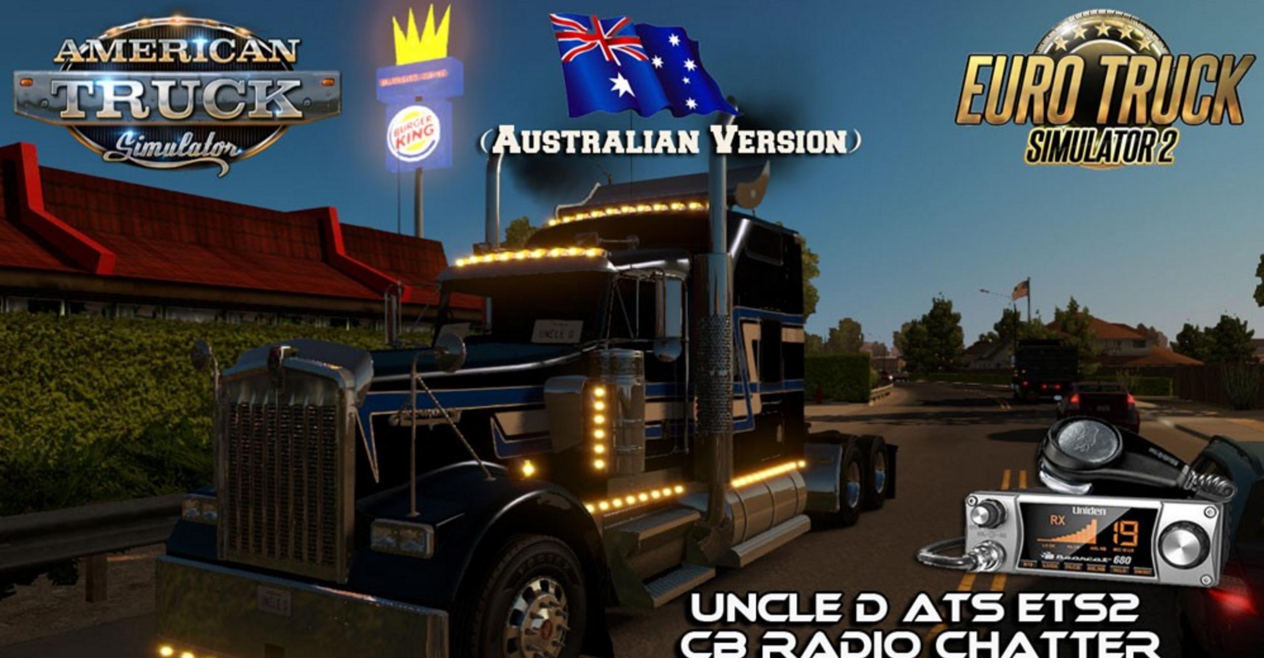 Uncle D ETS2 CB Radio Chatter v 2 04 (Australian Version