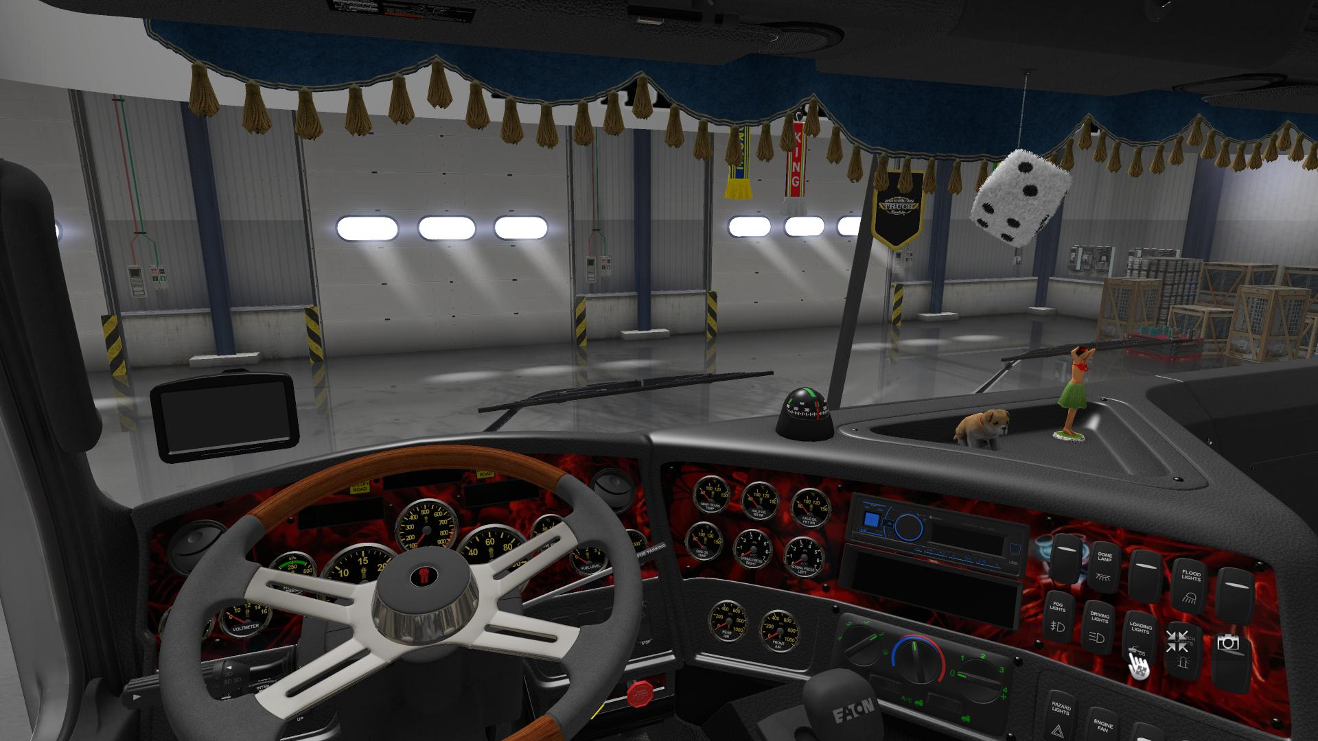 DLC CABIN ACCESSORIES V2.0 for for ATS -Euro Truck Simulator 2 Mods