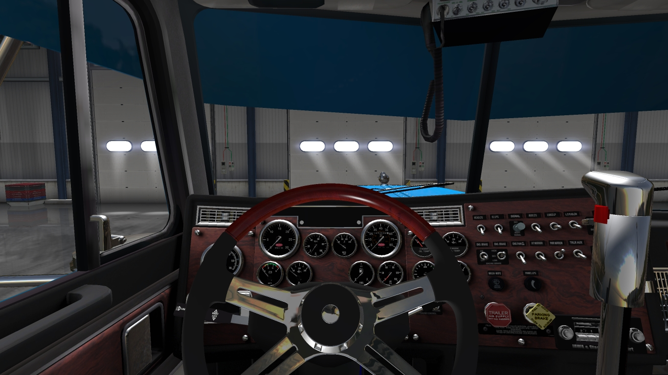 Peterbilt 379 Exhd Custom For Ats Euro Truck Simulator 2 Mods