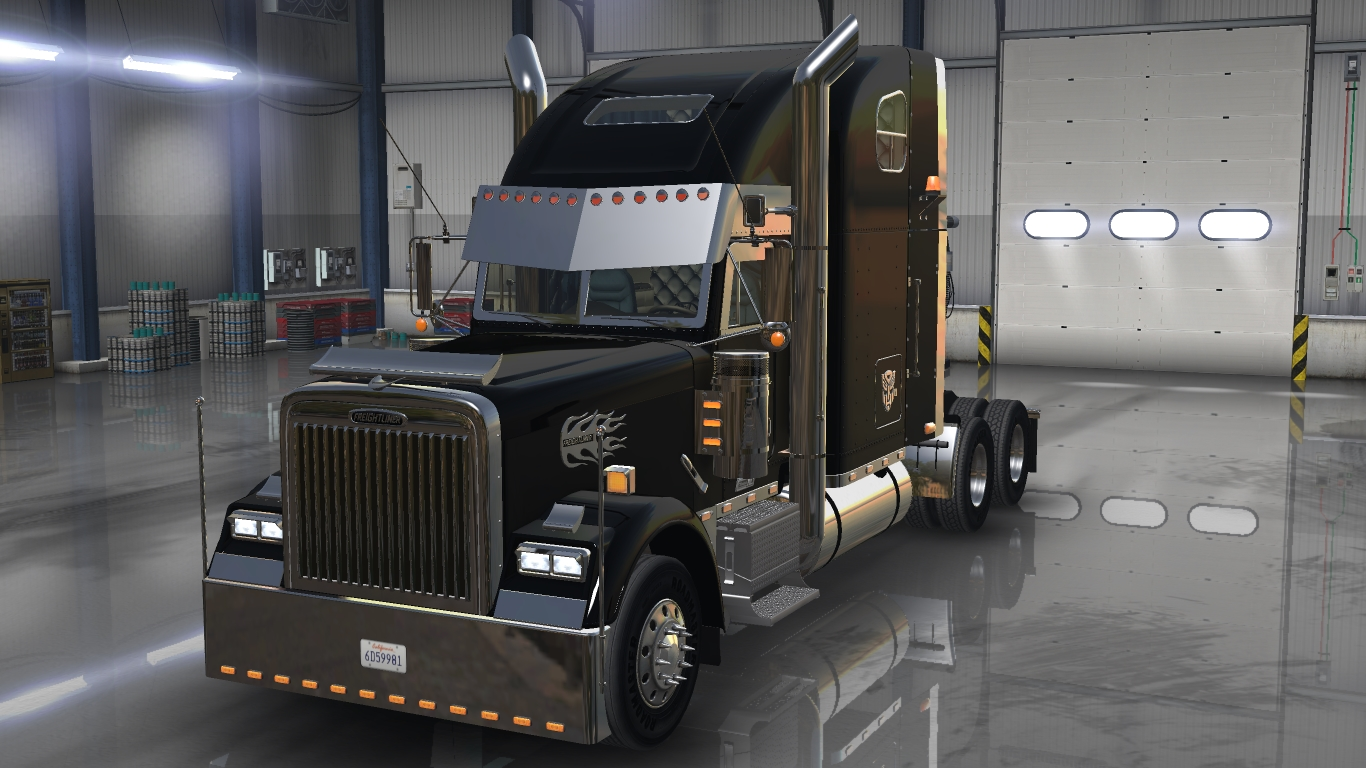 Truck Interior Accessories >> Freightliner classic XL custom ATS -Euro Truck Simulator 2 ...