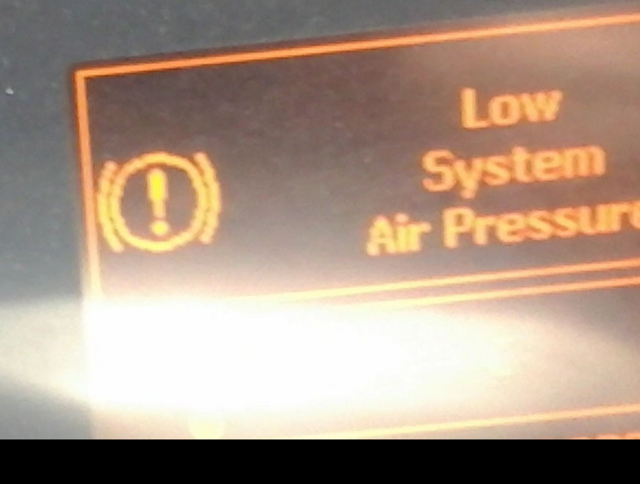 Low Air Pressure Warning replacement sound ATS -Euro Truck