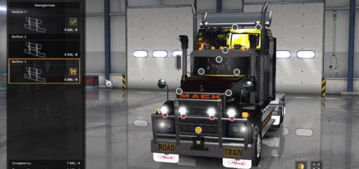 MACK R SERIES V1 3 1 32 X MOD for ATS -Euro Truck Simulator 2 Mods