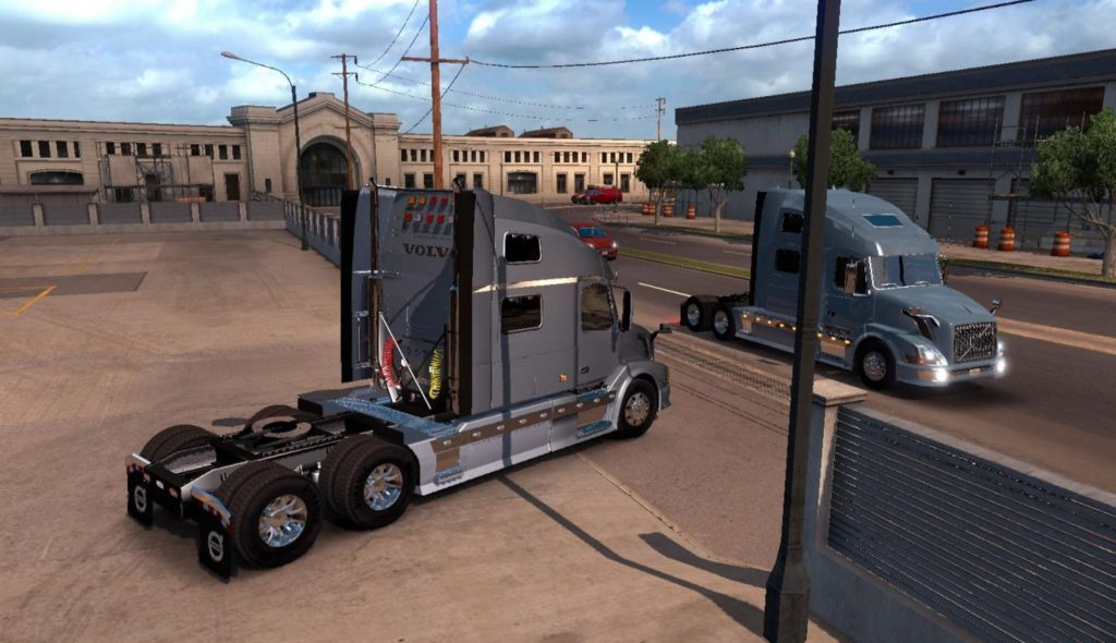 Volvo VNL 780 Reworked v2.8 ATS -Euro Truck Simulator 2 Mods