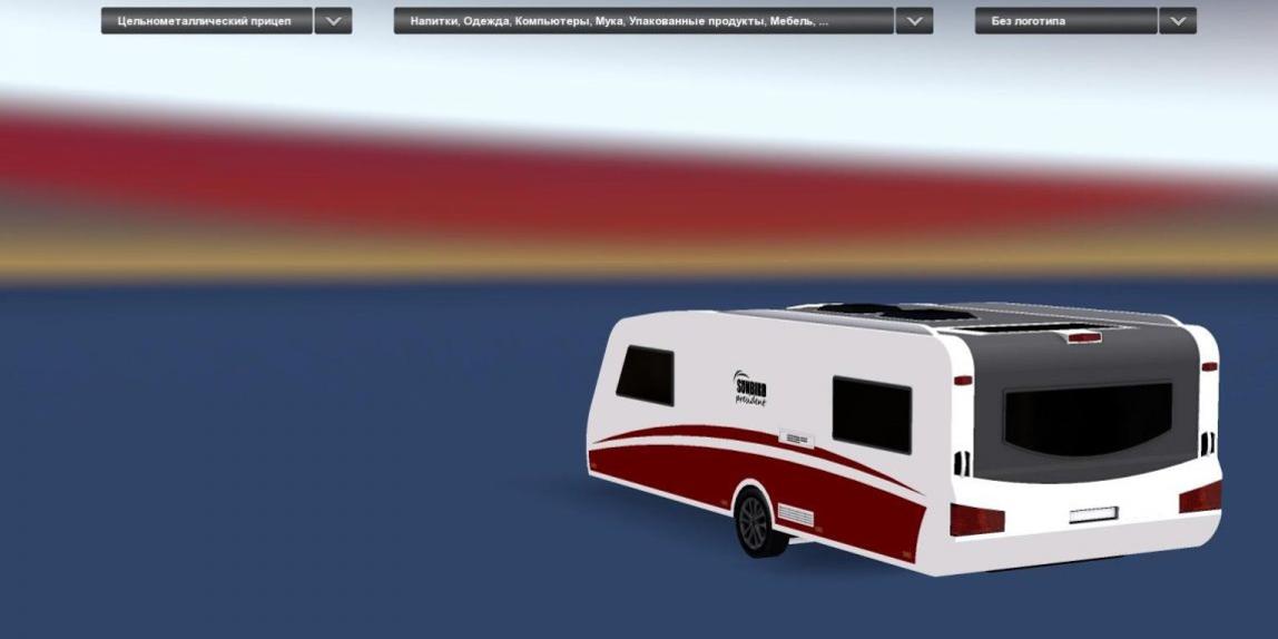 car caravan fs17 mod  euro truck simulator 2 mods