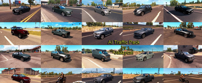 AI Traffic Pack by Jazzycat v1 7 ATS -Euro Truck Simulator 2