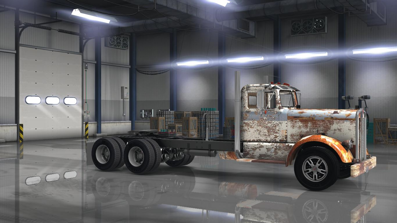 OLD RUSTY PAYWARE KENWORTH 521 V1 0 for ATS -Euro Truck