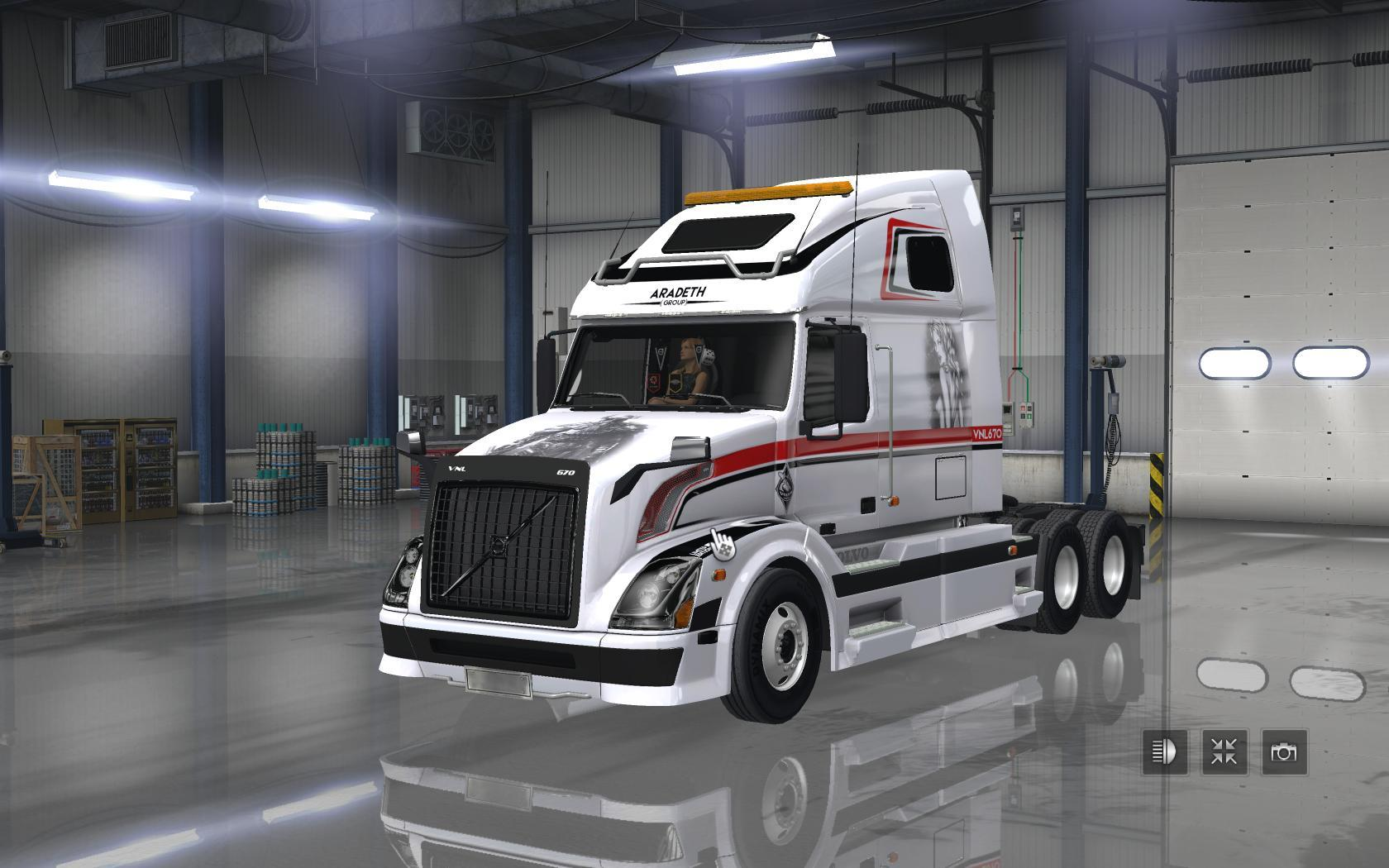 Volvo Truck Parts >> TRUCKS PACK V1.5 Mod -Euro Truck Simulator 2 Mods