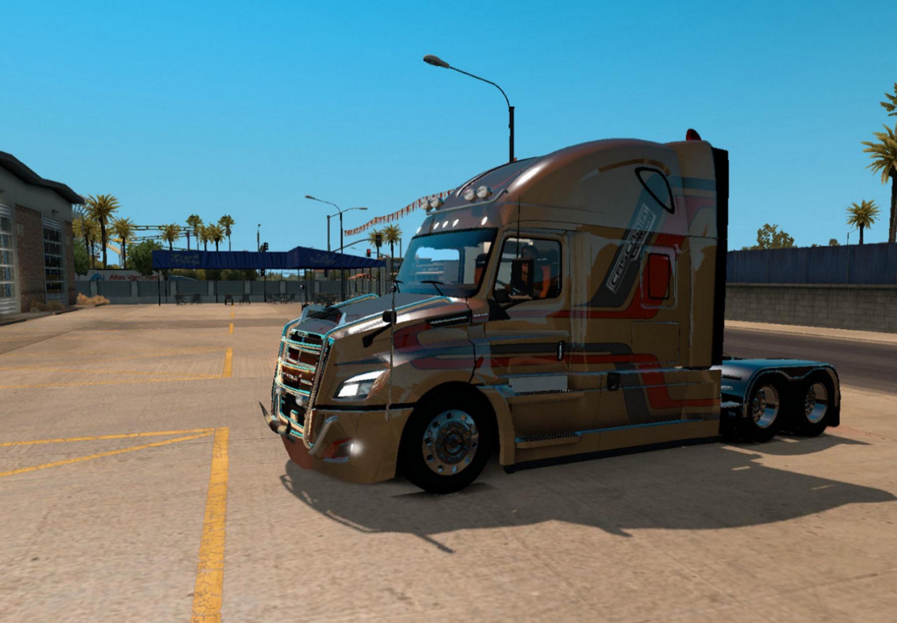 Freightliner Cascadia 2018 V 3 9 1 Truck Euro Truck Simulator 2 Mods