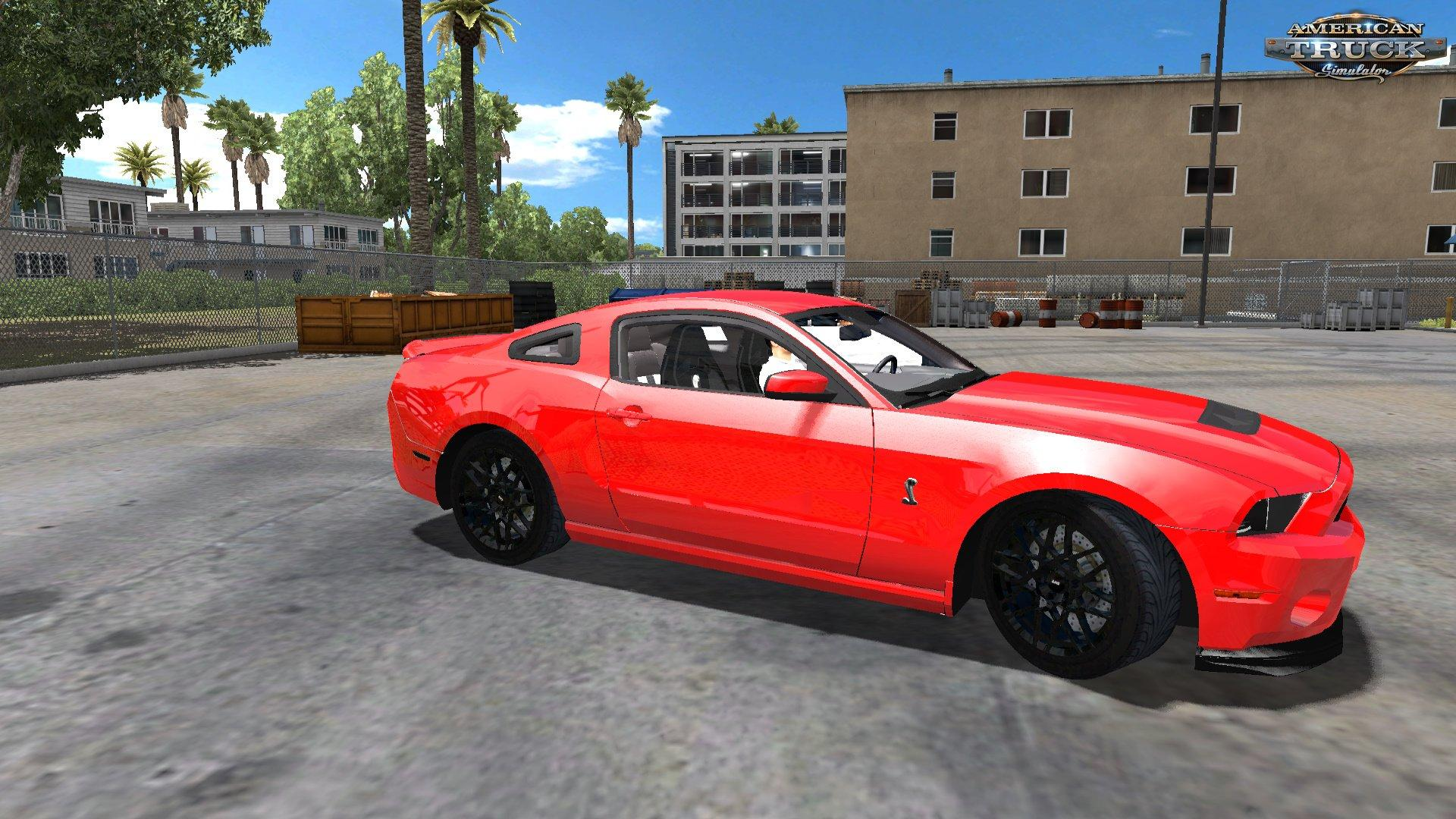 ford mustang shelby gt500 beta v1 0 mod euro truck simulator 2 mods. Black Bedroom Furniture Sets. Home Design Ideas