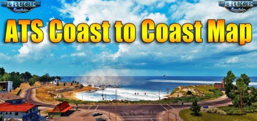 Coast to Coast – v2 5 non-DLC New Mexico 1 31 for ATS -Euro Truck