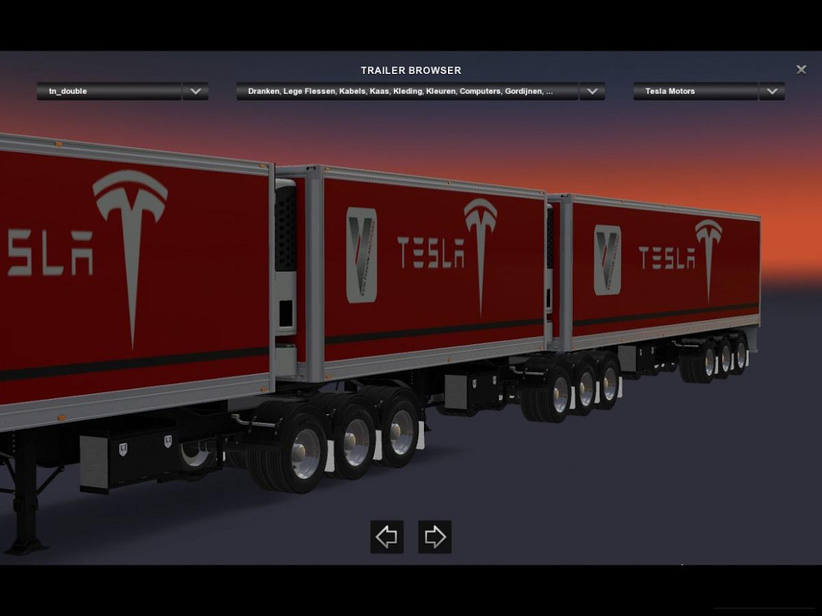 skinpack b double tripple trailer siebel3d sn4k3r rta for ats