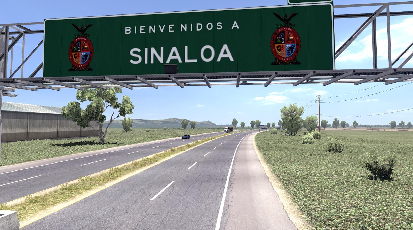 VIVA MEXICO V2.3 (SINALOA) SINGLE [1.6.X] ATS Map -Euro