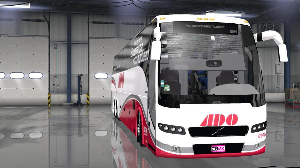 VOLVO 9700 LUXURY & SELECT 6X2 V2 0 [1 6] ATS Bus -Euro