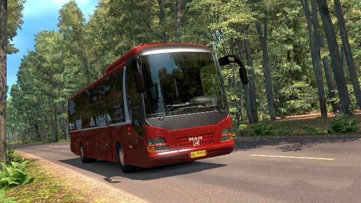 MAN LIONS REGIO BUS 1 27 X BUS MOD -Euro Truck Simulator 2 Mods