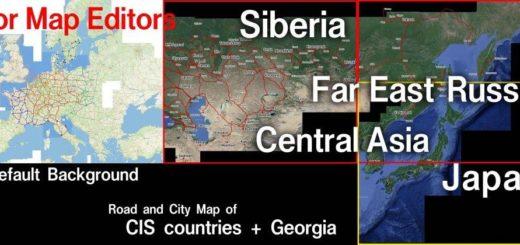 Central Asia   Euro Truck Simulator 2 Mods