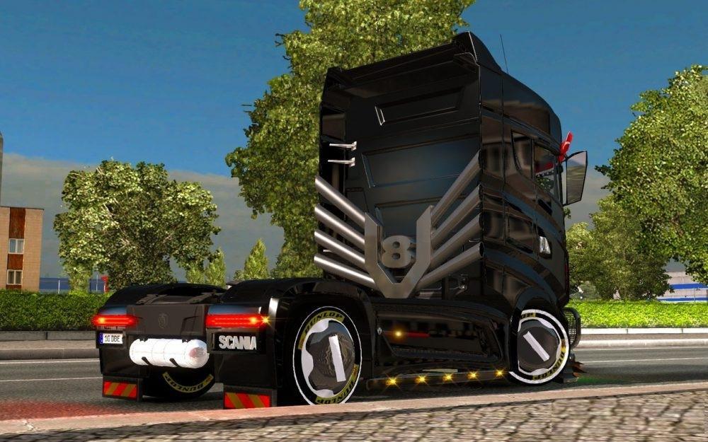 SCANIA R1000 REWORKED V5.0 MADYOGI EDIT TRUCK MOD -Euro Truck ...