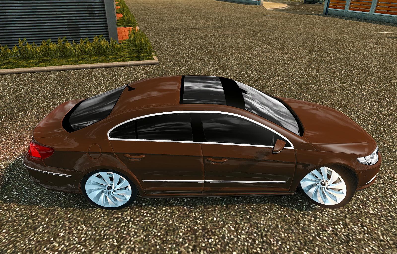 2013 volkswagen passat cc 2018 arteon car mod euro truck simulator 2 mods. Black Bedroom Furniture Sets. Home Design Ideas