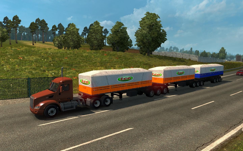 ATS TRUCKS IN ETS2 TRAFFIC V1 28 MOD -Euro Truck Simulator 2