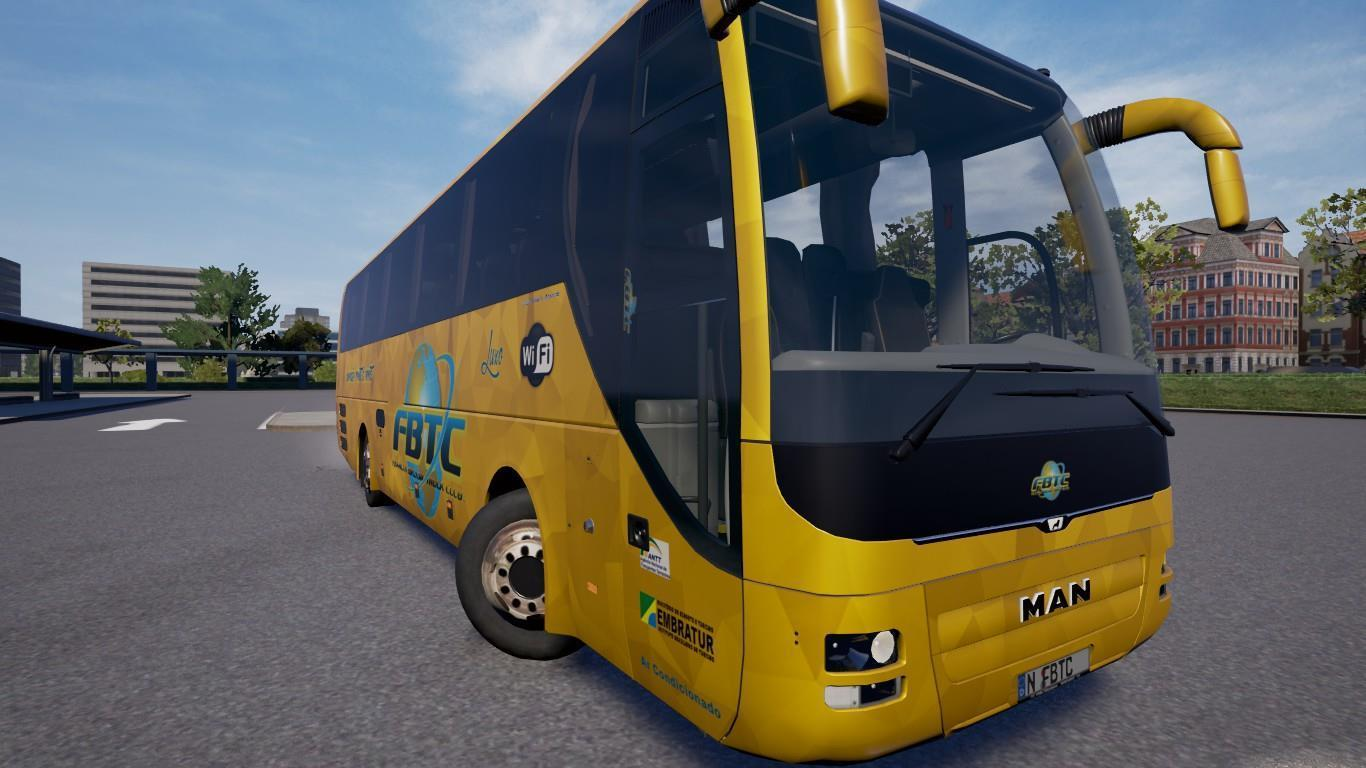 mapa eaa bus version v4 4 map mod euro truck. Black Bedroom Furniture Sets. Home Design Ideas