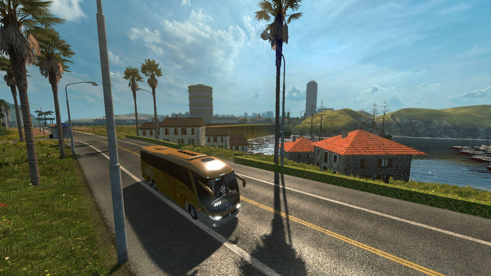 MAPA EAA BUS VERSION V4 4 (1 28) MAP MOD -Euro Truck