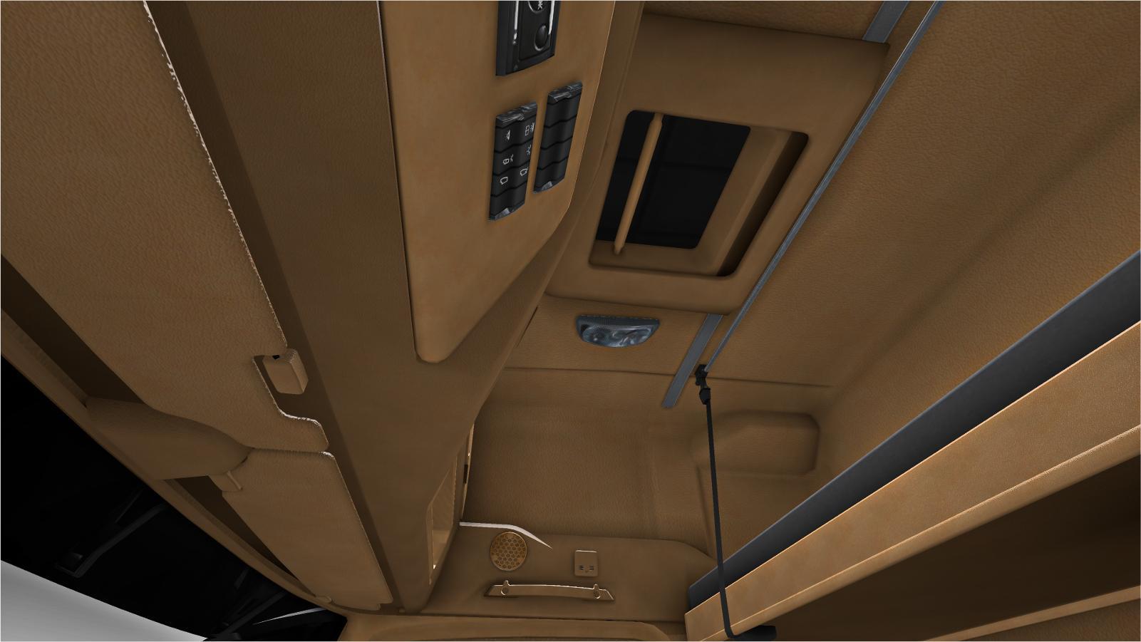 Mercedes Benz New Actros Tan Interior V Interior Mod