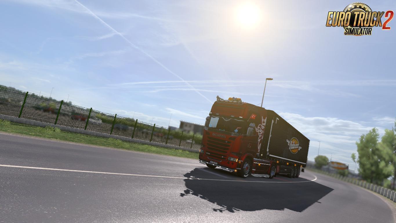 REALISTIC GRAPHICS MOD V1 8 1 ETS2 -Euro Truck Simulator 2 Mods