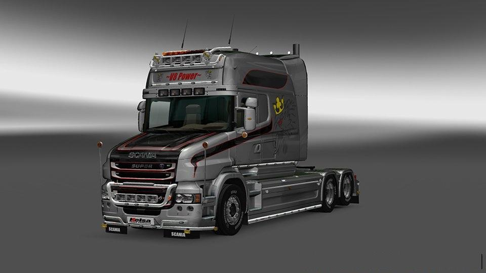 rjl 39 s scania accessories remoled v12 2 2 tuning mod euro truck simulator 2 mods. Black Bedroom Furniture Sets. Home Design Ideas