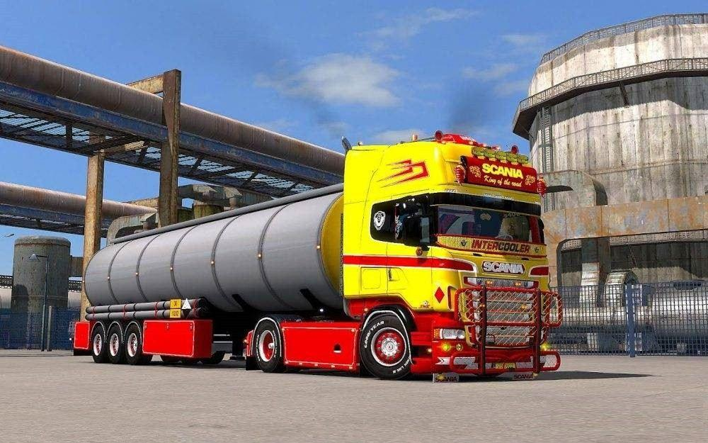 Scania R Amp Streamline Rjl Scania Red Amp Yellow Pack