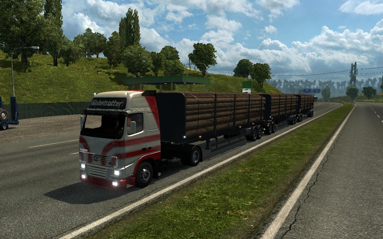 TRAFFIC DOUBLE TRIPLE TRAILERS ETS2 1 27 X MOD -Euro Truck