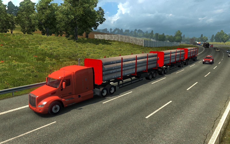 TRUCKS ATS IN TRAFFIC ETS2 V1 27 MOD -Euro Truck Simulator 2