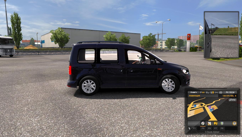 volkswagen caddy  car mod euro truck simulator  mods