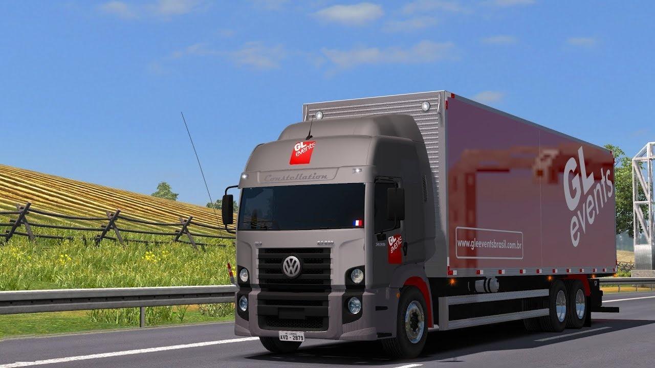 VOLKSWAGEN CONSTELLATION 24-250 V1.0 TRUCK MOD -Euro Truck Simulator 2 Mods