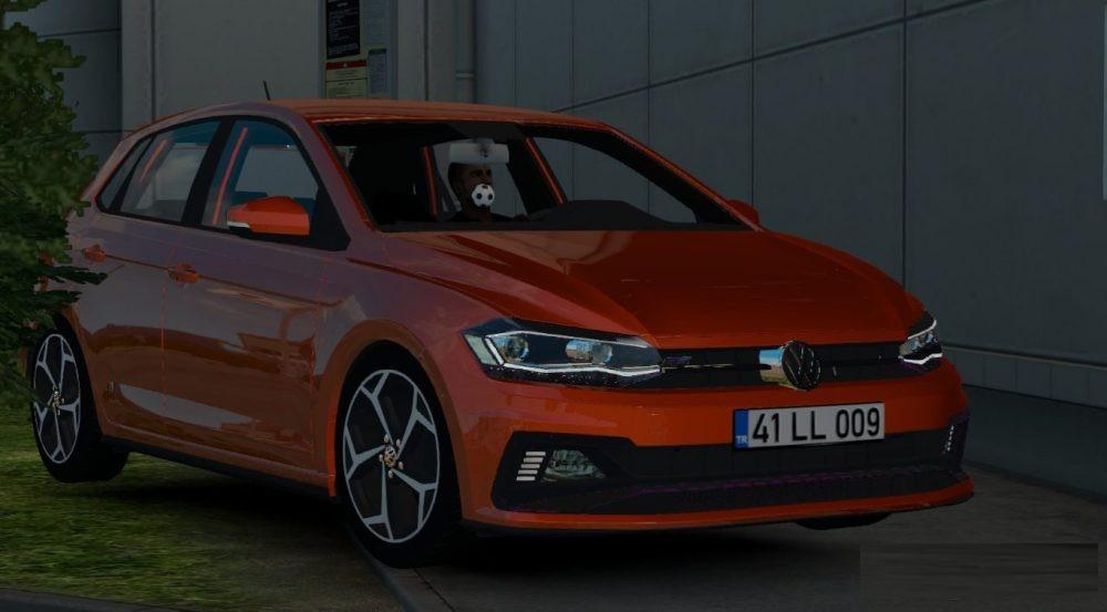 Volkswagen Polo 2018 1 28 X Car Mod Euro Truck Simulator 2 Mods
