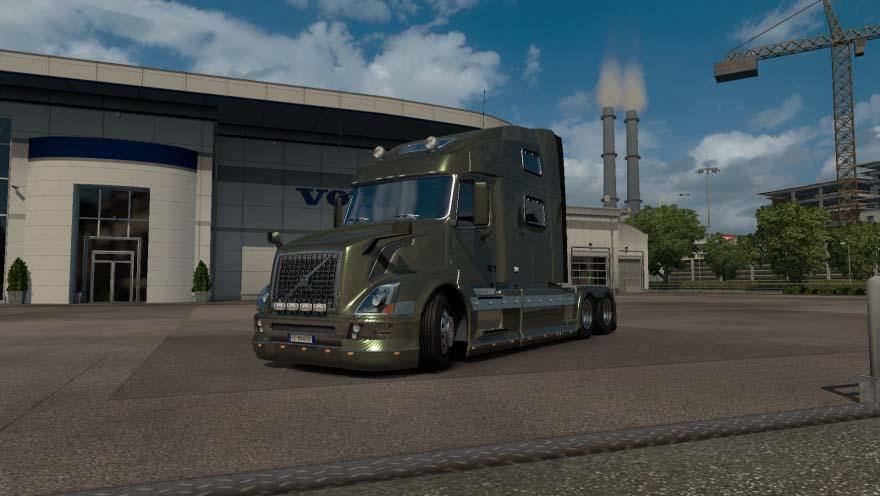 VOLVO VNL 780 1.28.X TRUCK MOD -Euro Truck Simulator 2 Mods