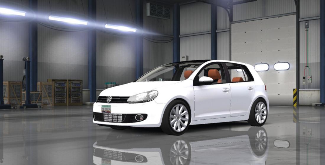 Volkswagen Golf MK6 Mod -Euro Truck Simulator 2 Mods