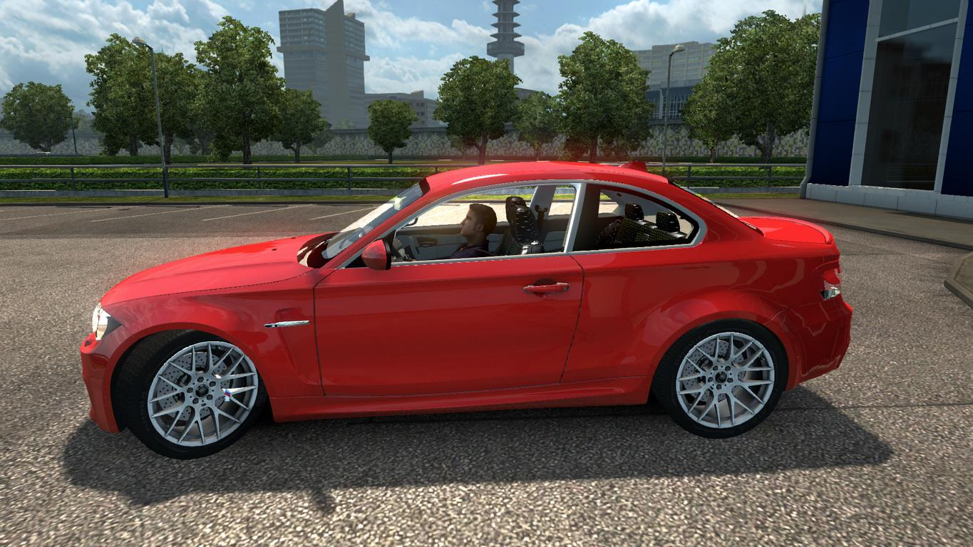 bmw 1m e82 v1 0 car mod euro truck simulator 2 mods. Black Bedroom Furniture Sets. Home Design Ideas