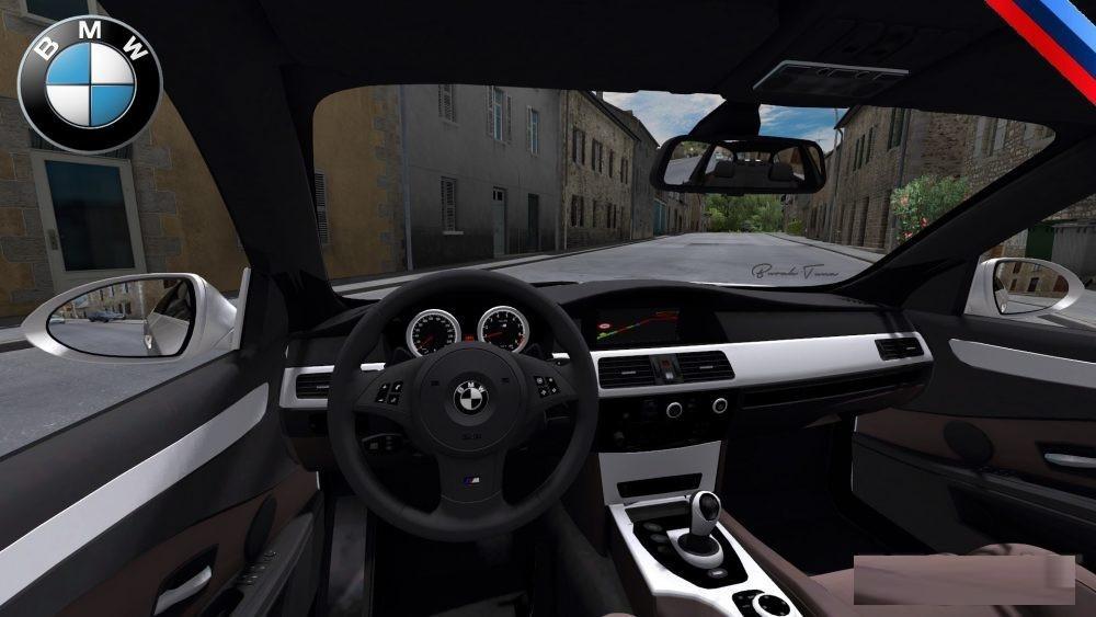 bmw 5 series e60 pack v2 0 car mod euro truck simulator 2 mods. Black Bedroom Furniture Sets. Home Design Ideas