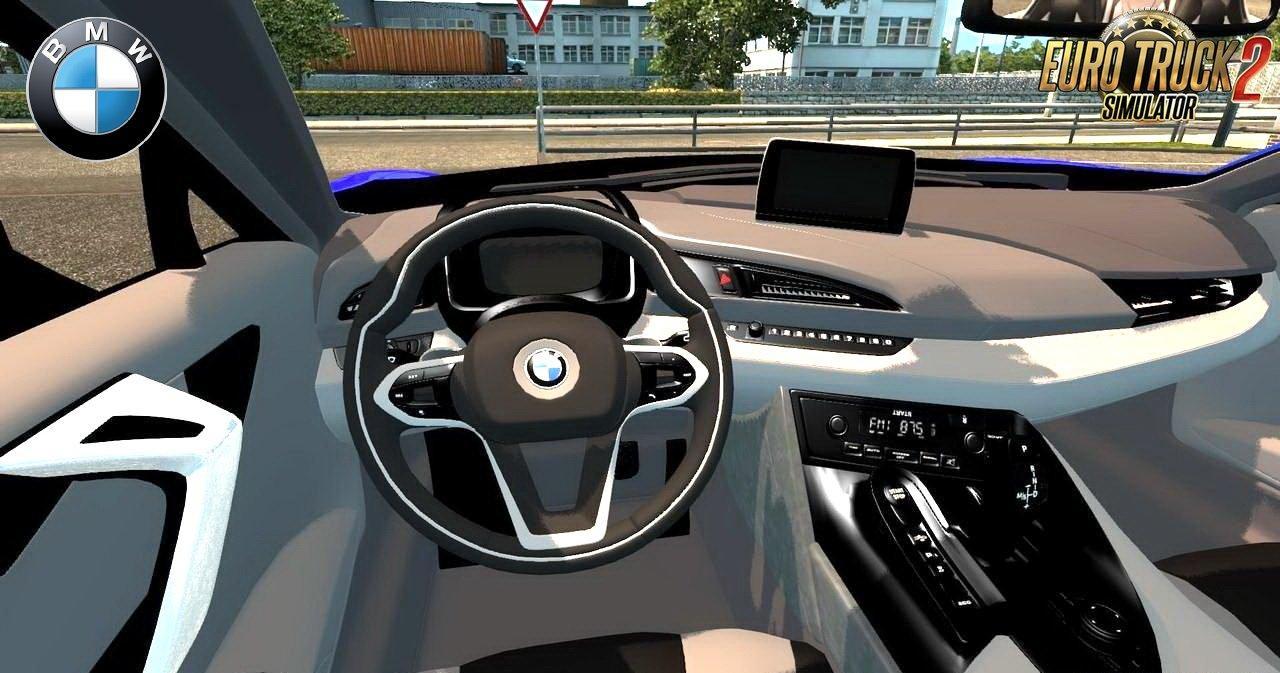 Bmw i8 interior v3 0 car mod euro truck for I 8 interior