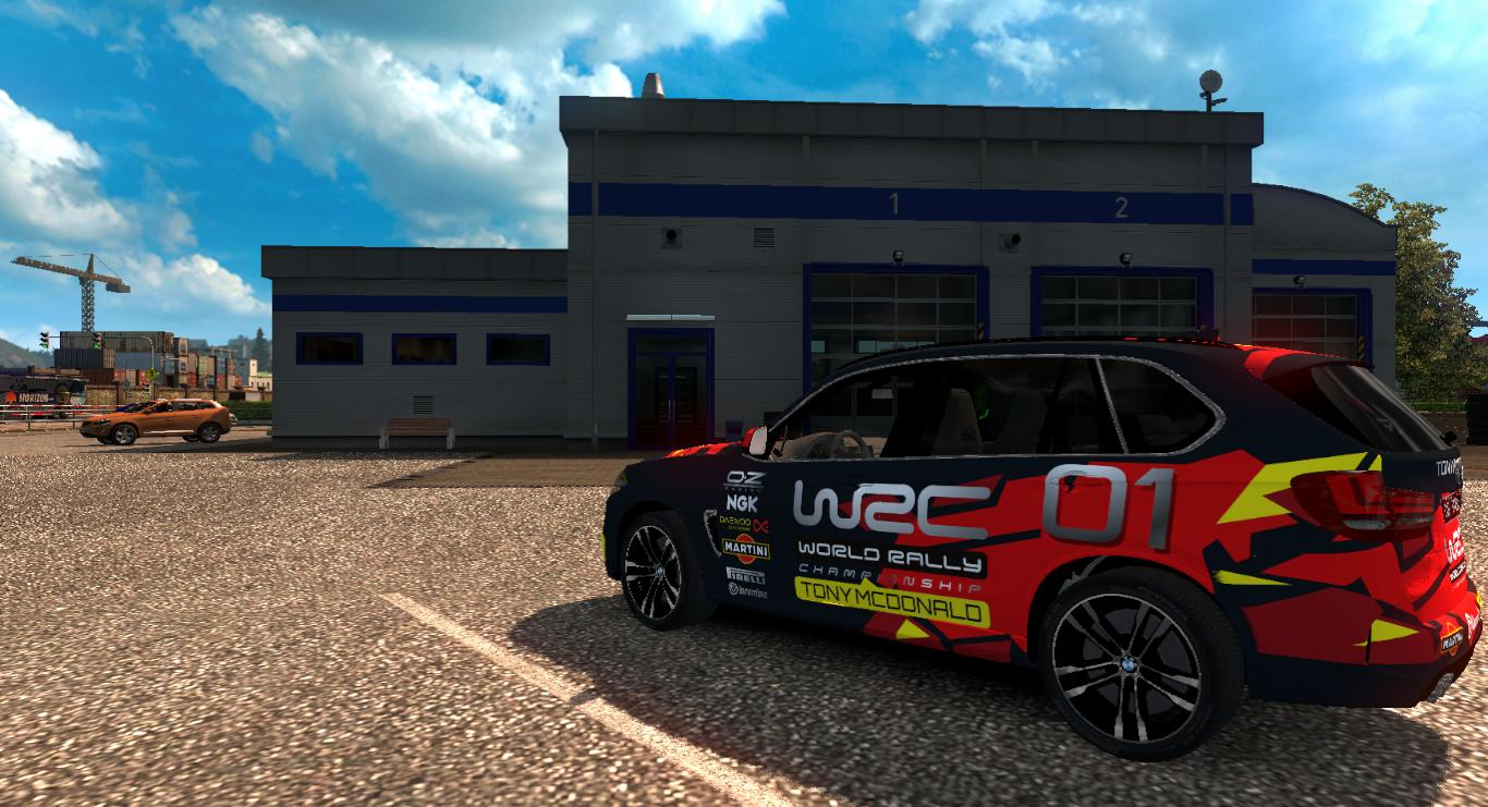 BMW X5 WORLD RACING CHAMPIONSHIP 1 28 X CAR MOD -Euro Truck